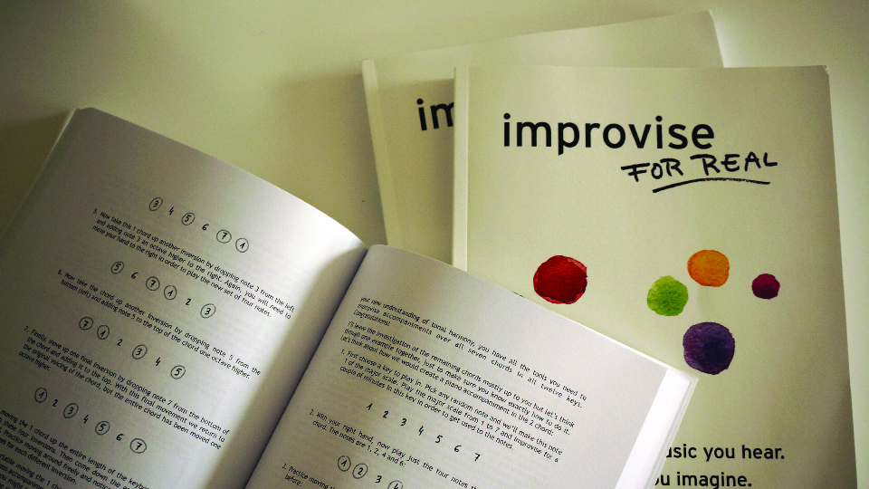 Improvise for Real in print
