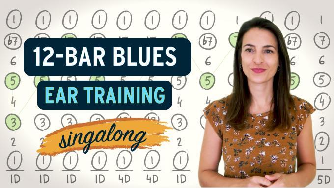 12-bar blues ear training