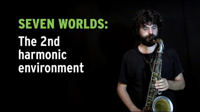 Improvisation exercise Seven Worlds on tenor sax