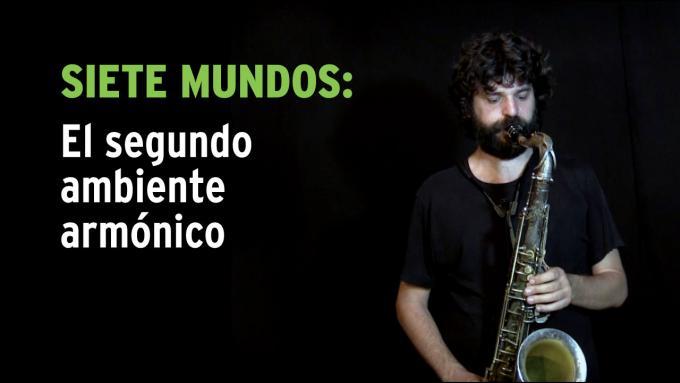 Ejercicio de improvisación Siete Mundos para saxo tenor
