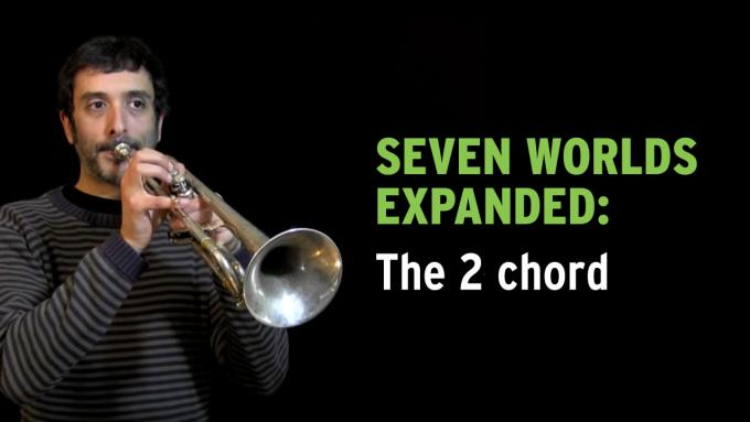 IFR improvisation exercise Seven Worlds Expanded on trumpet