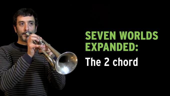 IFR improvisation exercise Seven Worlds Expanded on trumpet