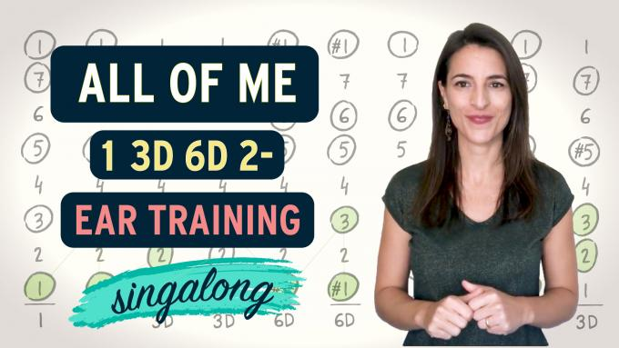 Ear training with All of Me