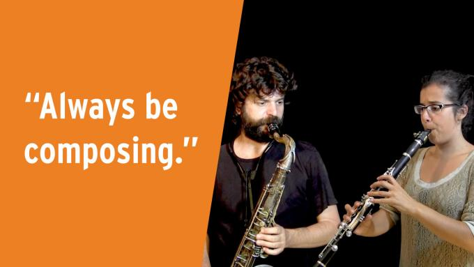 IFR video lesson: Always be composing