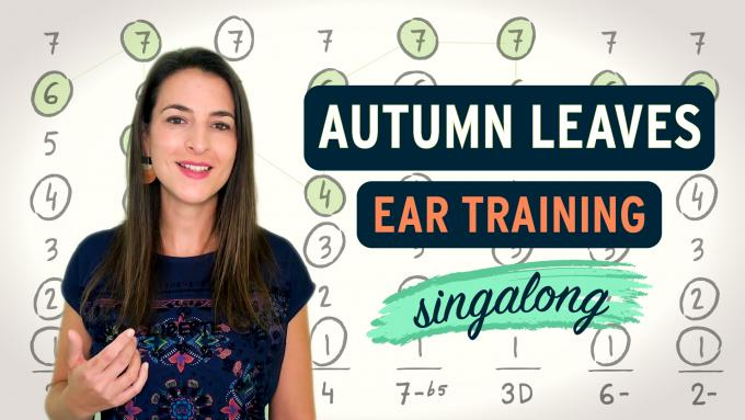 Autumn Leaves ear training