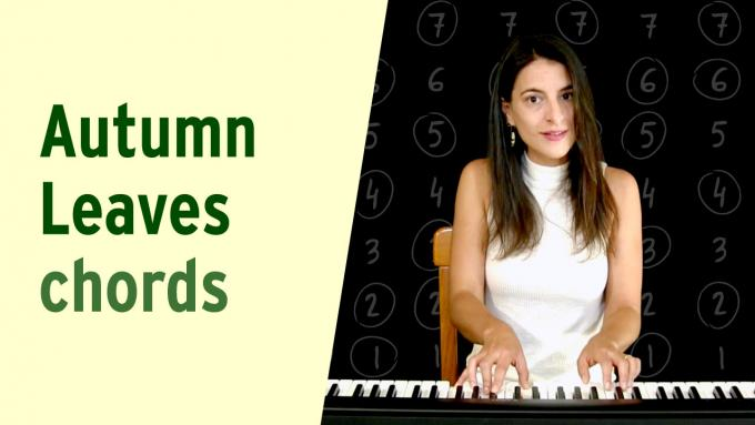 Chord progression to 'Autumn Leaves'