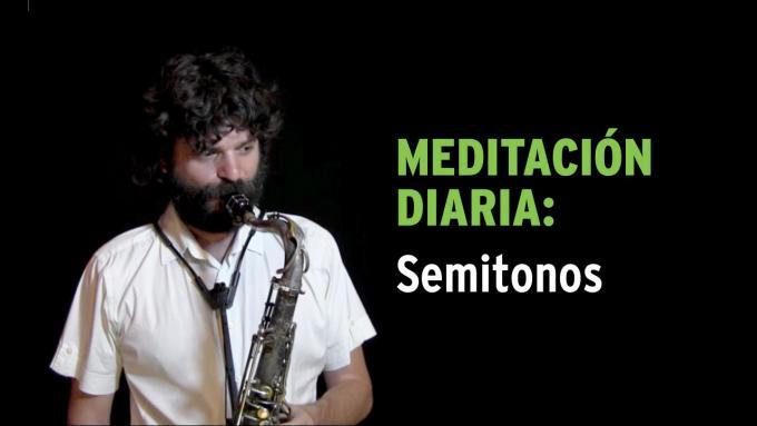 Meditación diaria IFR con semitonos para saxo tenor