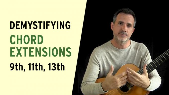 IFR video lesson: Demystifying chord extensions
