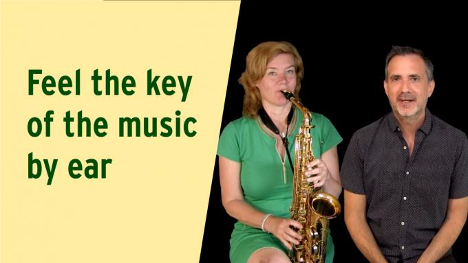 Finding the key of the music by ear
