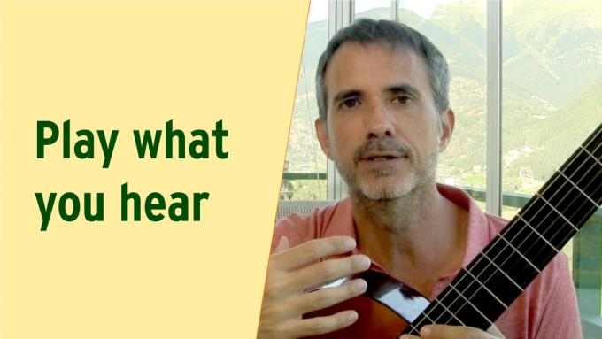 IFR video lesson: How to play what you hear - 5 great exercises