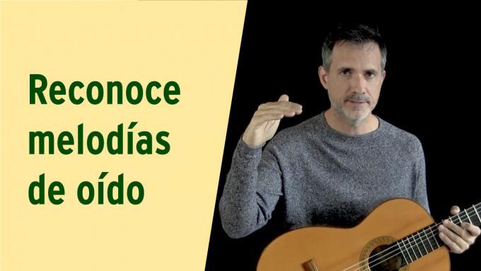 Vídeo tutorial IFR: Cómo reconocer melodías de oído