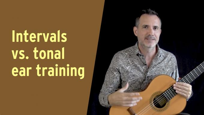 Intervals vs. tonal ear training