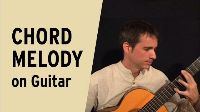 Introduction to chord melody on guitar