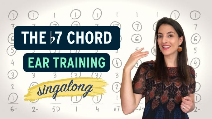 Melody Paths with the beautiful b7 chord