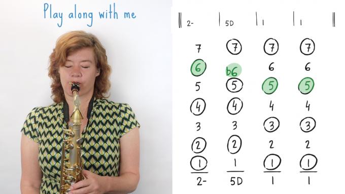IFR Playalong: 2-5-1 chord progression