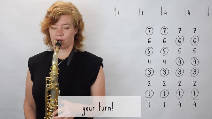 IFR Playalong: chords 1 and 4