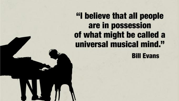 The universal musical mind