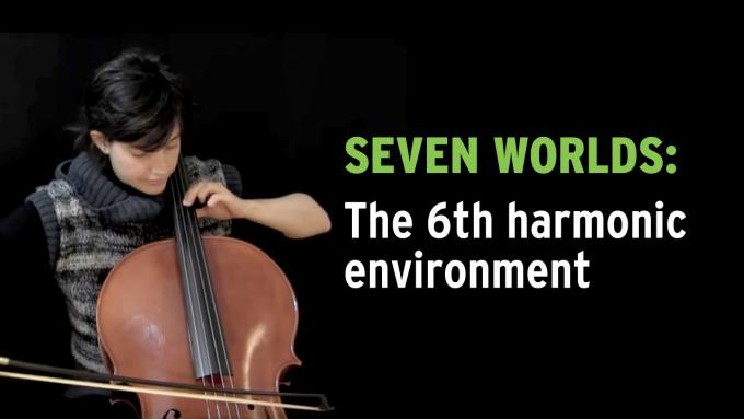 IFR improvisation exercise 'Seven Worlds' on cello