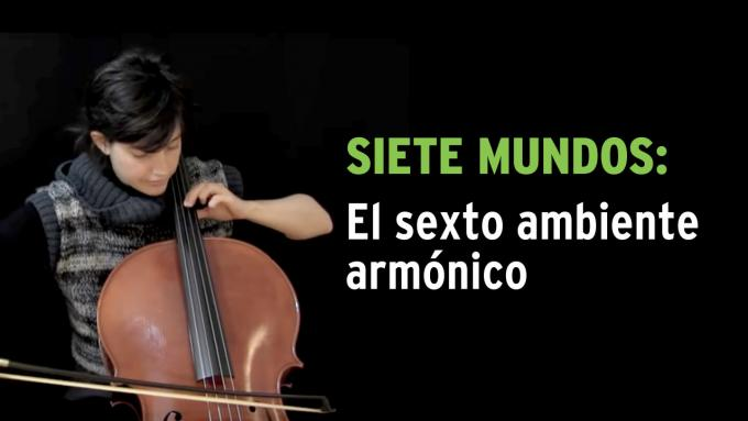 Ejercicio de improvisación Siete Mundos para violonchelo