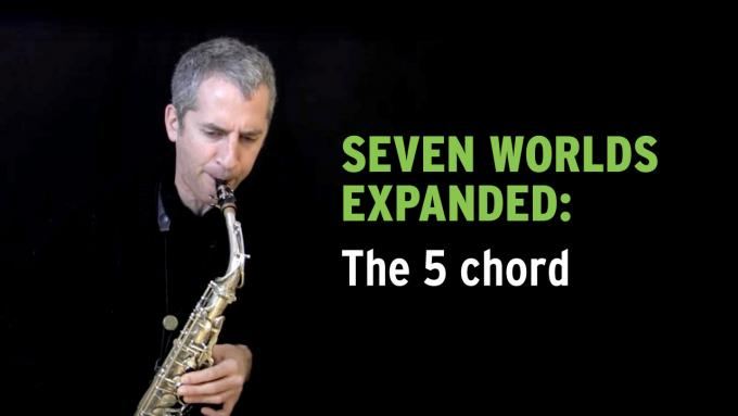 IFR improvisation exercise Seven Worlds Expanded on alto sax