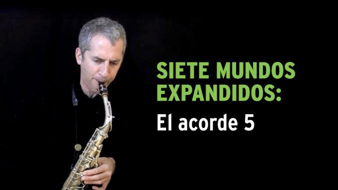 Ejercicio de improvisación Siete Mundos Expandidos para saxo alto