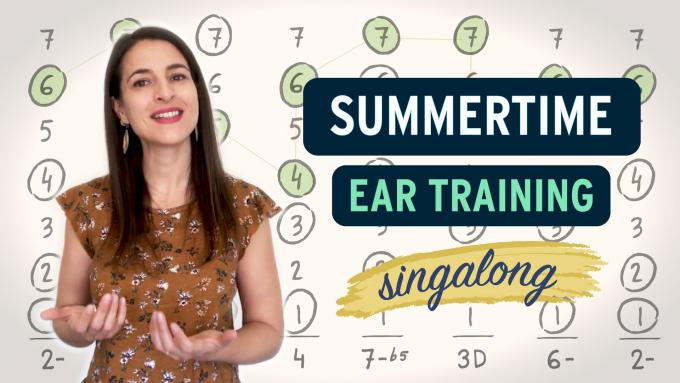 Ear training with Summertime