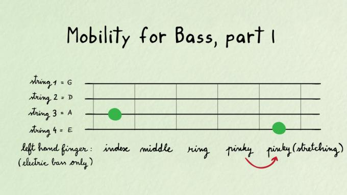 Mobility exercise for bass