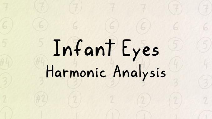 Harmonic analysis of Infant Eyes