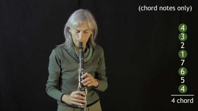 """IFR exercise """"Seven Worlds Expanded"""" on clarinet"""