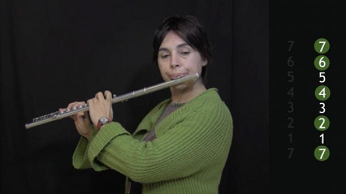 "Ejercicio ""Siete Mundos Expandidos"" para flauta"
