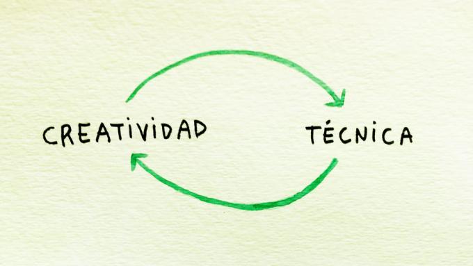 La relación entre la técnica y la creatividad