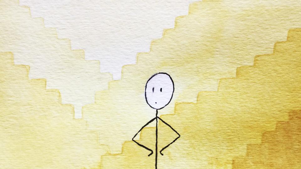 ¿Algún día podré dejar de pensar en dibujos de escalas?